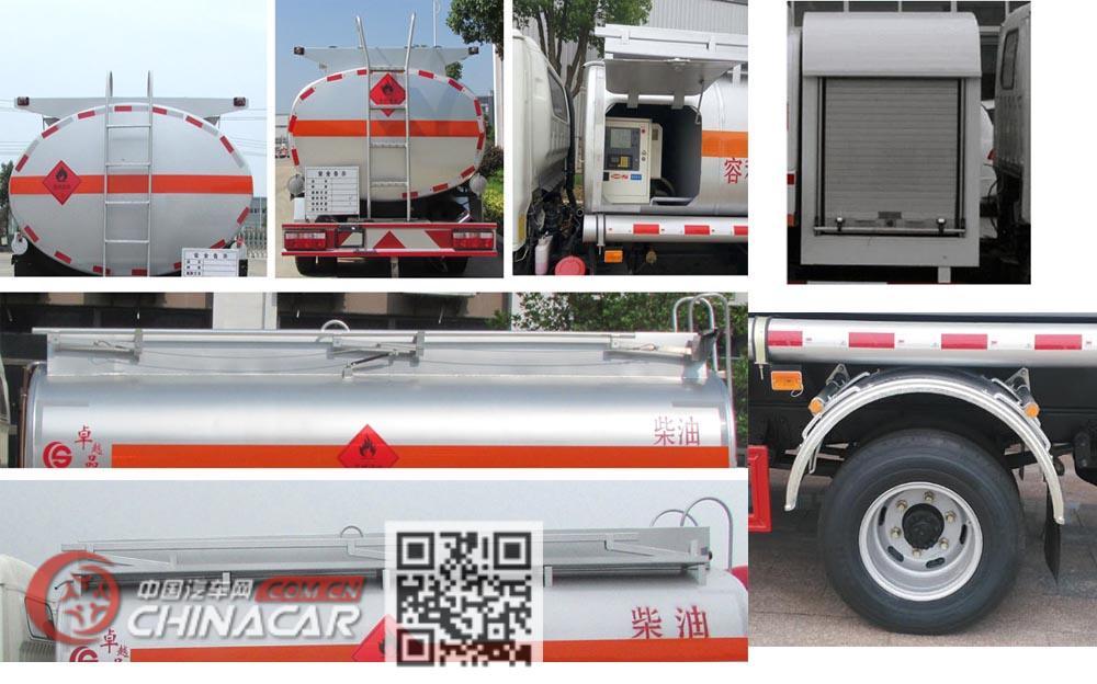 楚胜牌CSC5071GJYJH5A型加油车图片2