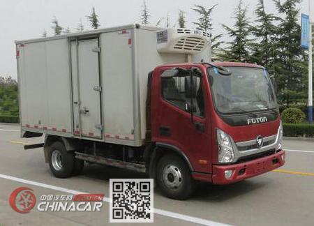 福田牌BJ5045XLC-FA型冷藏车图片1