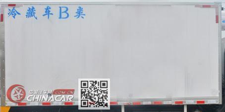 多士星牌JHW5180XLCD型冷藏车图片3
