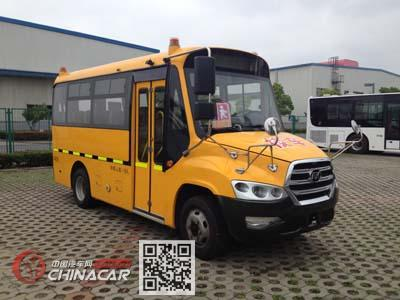 安凯牌HFF6541KQY4型幼儿专用校车图片1