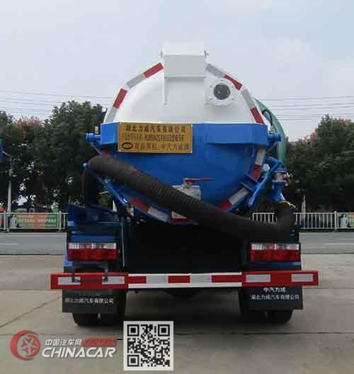 中汽力威牌HLW5042GXW5EQ型吸污车图片4