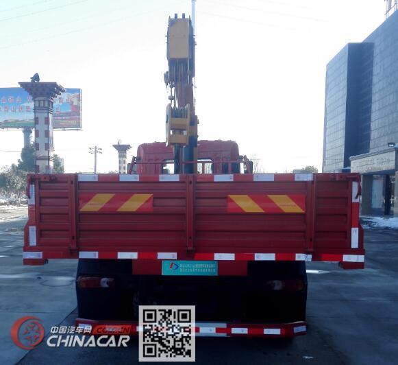 大力牌DLQ5180JSQZM5型随车起重运输车图片4
