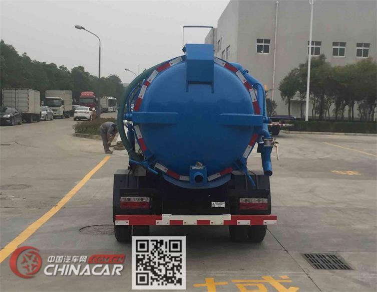 东风牌EQ5072GXWL型吸污车图片4