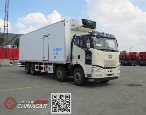 解放牌CA5310XLCP63K1L6T4E5型冷藏车图片1