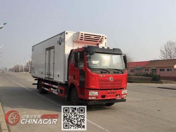 青驰牌QYK5162XLC5型冷藏车图片