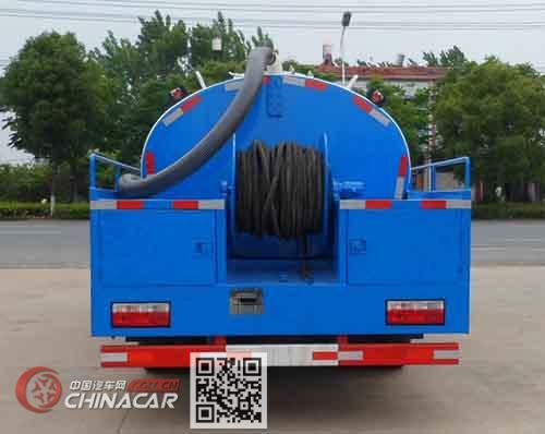 中汽力威牌HLW5111GQX5EQ型清洗车图片4