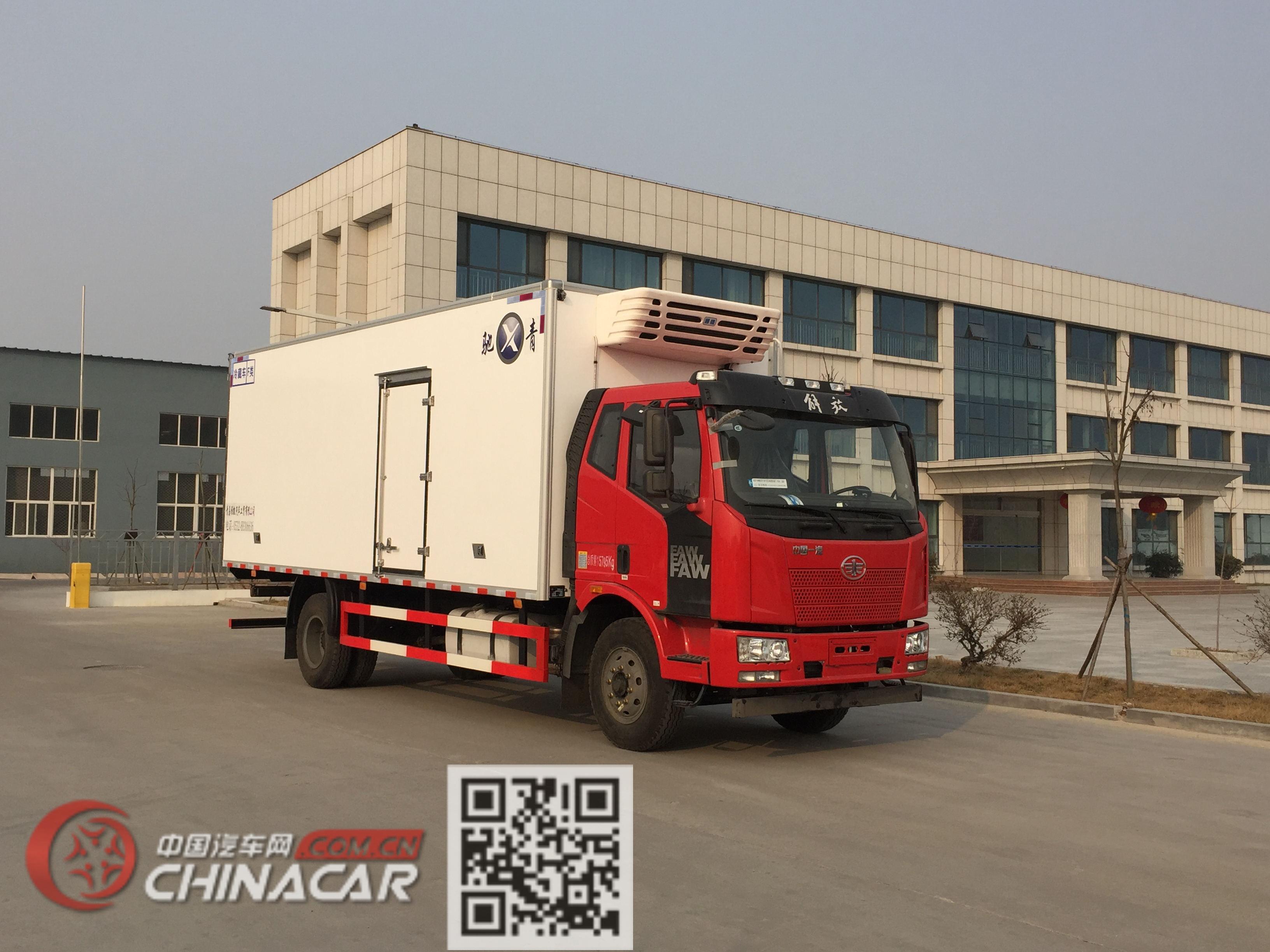青驰牌QYK5160XLC5型冷藏车图片