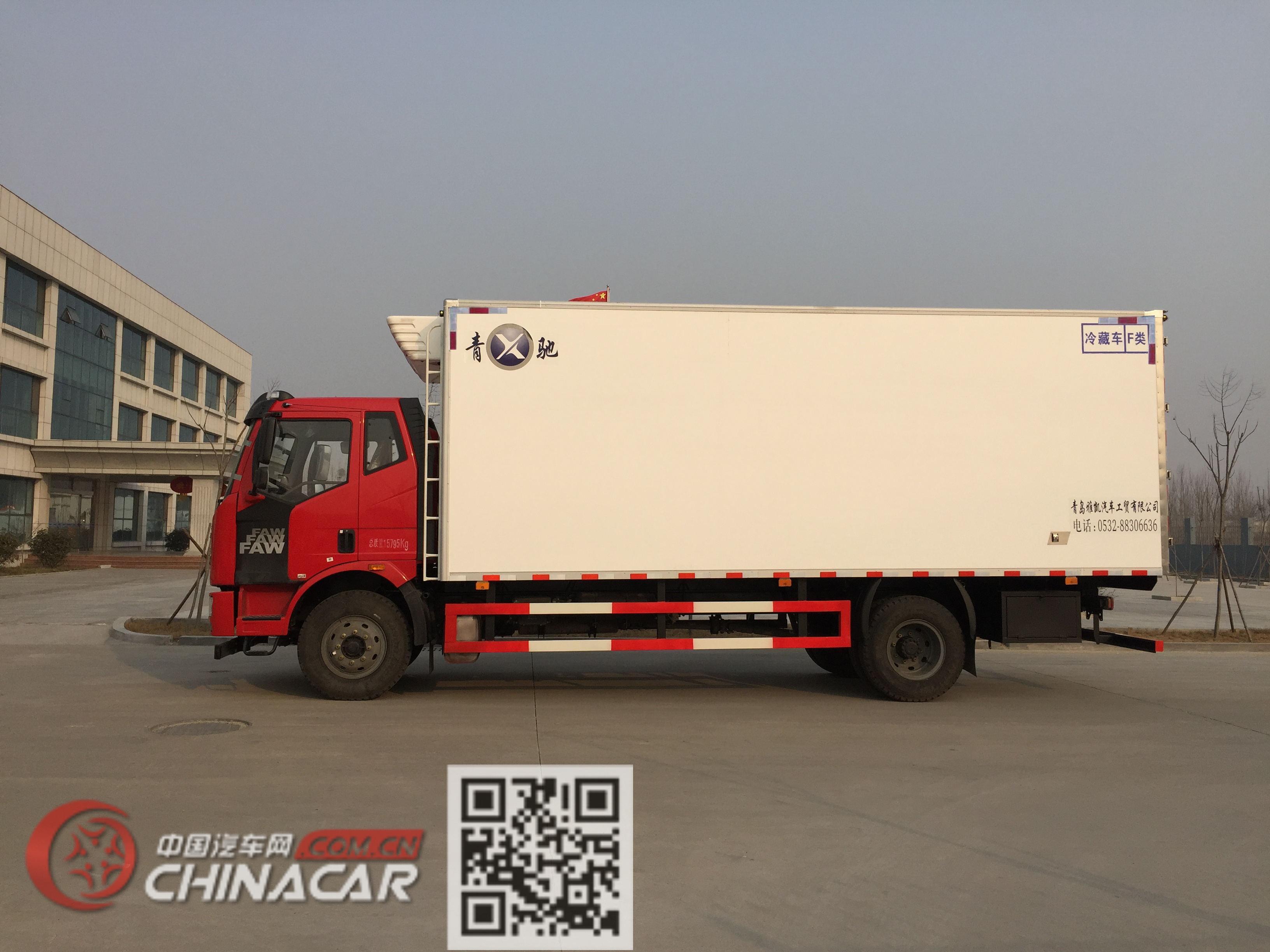 青驰牌QYK5160XLC5型冷藏车图片3