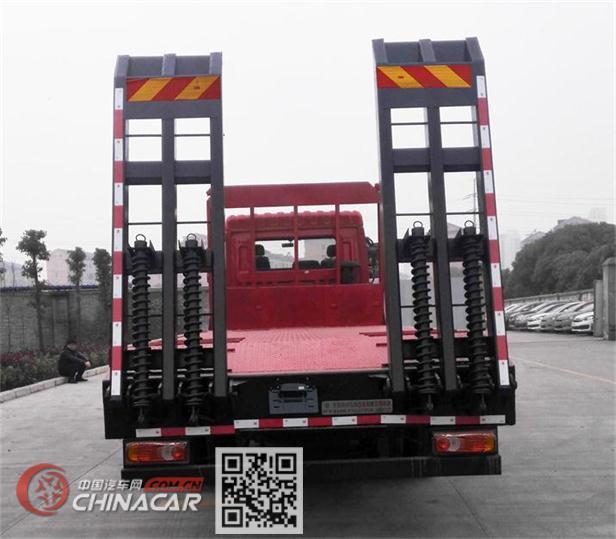 东风牌DFZ5258TPBSZ5D型平板运输车图片4