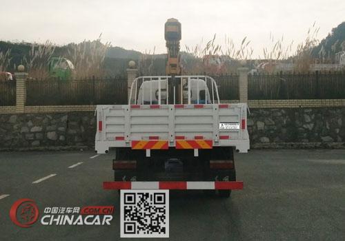 东风牌EQ5141JSQFV型随车起重运输车图片4