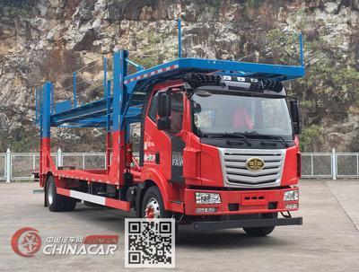 柳特神力牌LZT5180TCLP3K2E5L8A90型车辆运输车图片