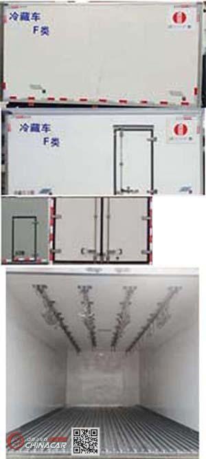 川牧牌CXJ5043XLC型冷藏车图片3