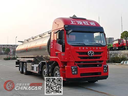 楚胜牌CSC5326GYYLCQ型铝合金运油车图片
