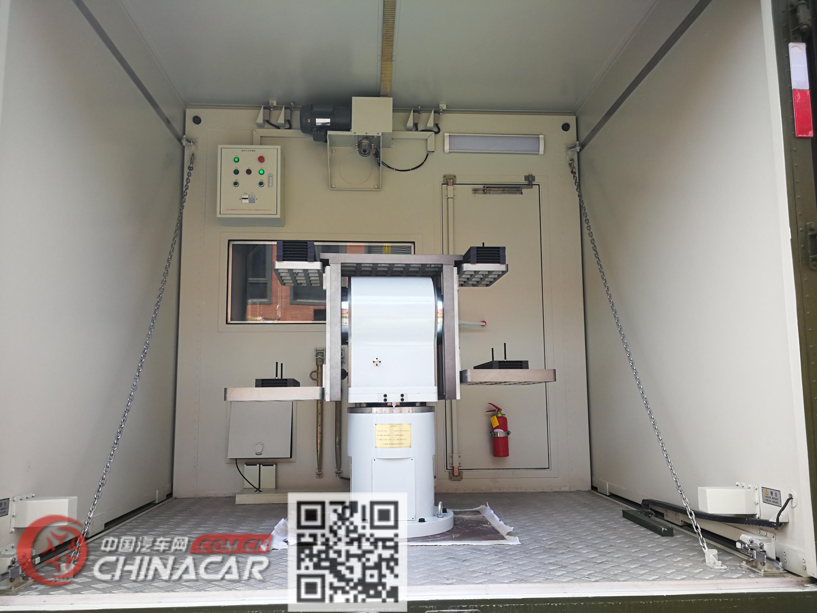 奥赛牌ZJT5120XYQ型仪器车图片3