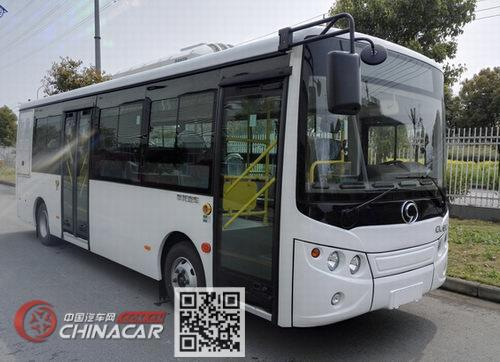 华龙牌SKC6810EVGF型纯电动城市客车图片1