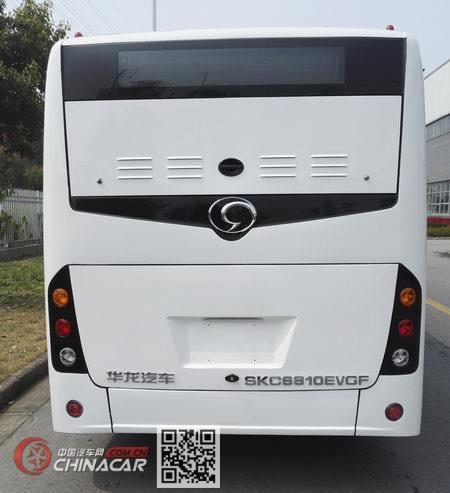 华龙牌SKC6810EVGF型纯电动城市客车图片2
