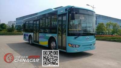 上饶牌SR6106PHEVNG型混合动力城市客车图片1