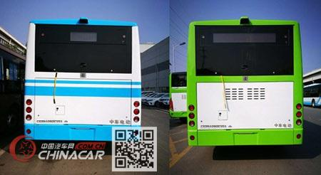 大汉牌CKY6106BEV01型纯电动城市客车图片3