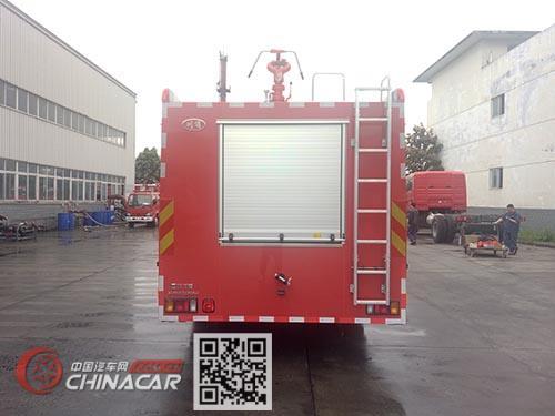 川消牌SXF5161GXFGF40型干粉消防车图片2