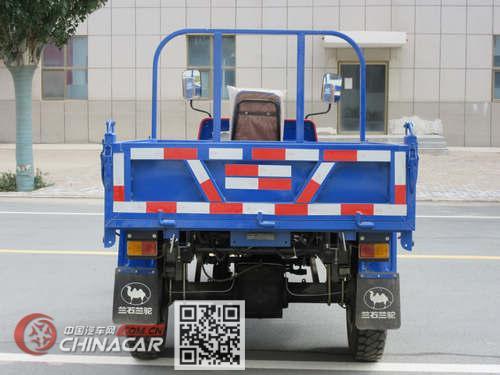 兰驼牌7YP-1450D3型自卸三轮汽车图片2