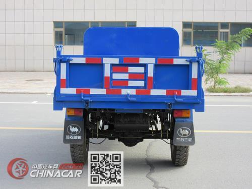 兰驼牌7YP-1450DA型自卸三轮汽车图片4