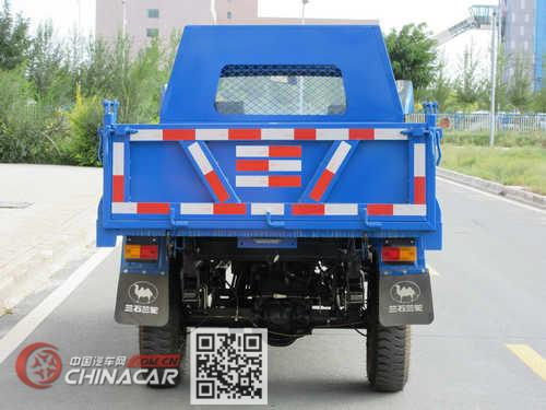 兰驼牌7YPJ-1450DB型自卸三轮汽车图片2