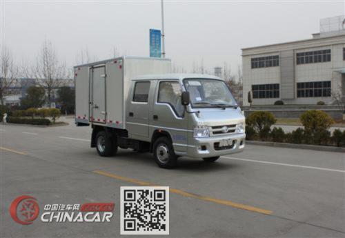 福田牌BJ5032XXY-N5型厢式运输车图片