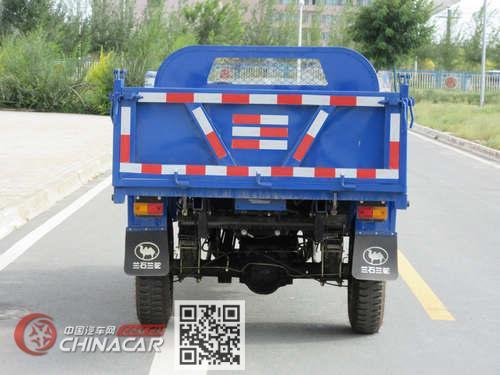 兰驼牌7YP-1750D2型自卸三轮汽车图片2