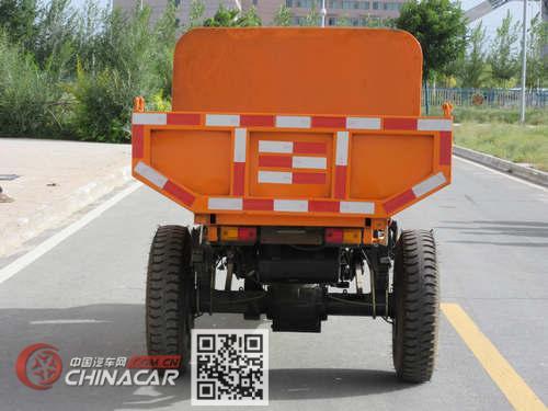 兰驼牌7YP-1450D2G型自卸三轮汽车图片2