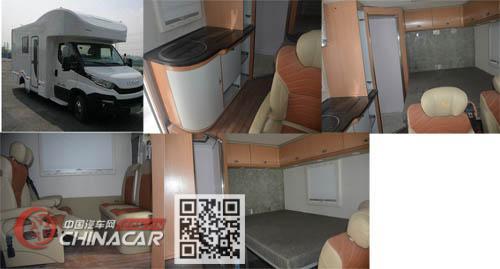 多士星牌JHW5042XLJ型旅居车图片3