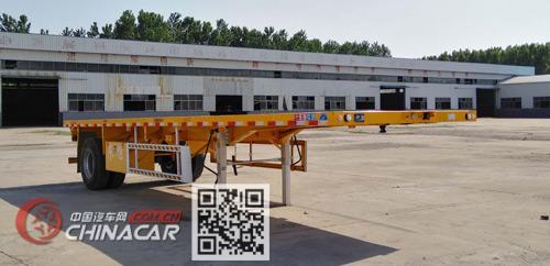 郓哹okz%_郓翔牌ydx9180tpb型平板运输半挂车图片