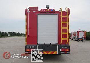 汉江牌HXF5200GXFSG80/HW型水罐消防车图片2