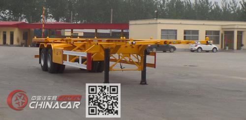 郓哹okz%_郓翔牌ydx9350tjz型集装箱运输半挂车图片