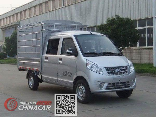南骏牌CNJ5021CCYSSA30V型仓栅式运输车图片