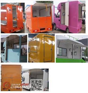 程力威牌CLW5021XSHQ5型售货车图片2
