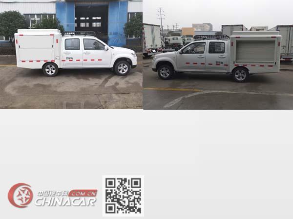 富園牌HFY5020XXCD型宣傳車圖片2