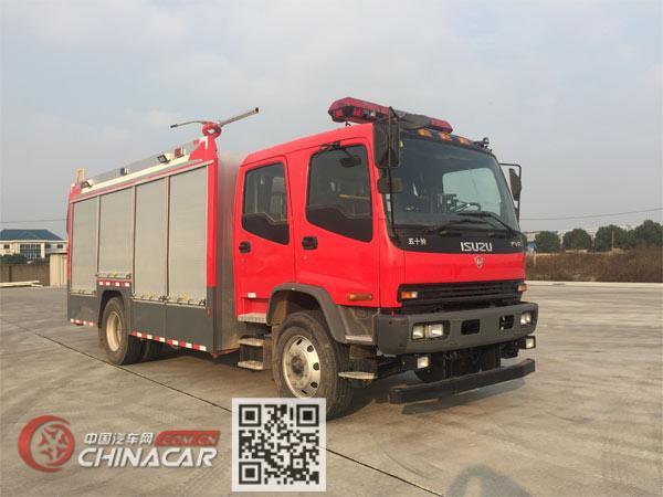 金盛盾牌JDX5150GXFGF30/W5型干粉消防车图片1