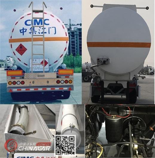 �:!�9d#��.ZJv_中集牌zjv9400gryjm型铝合金易燃液体罐式运输半挂车图片