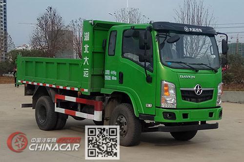 大运牌dyq3048d5ac型自卸汽车图片