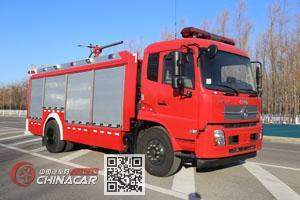 中卓时代牌ZXF5140GXFGF30/D5型干粉消防车图片1