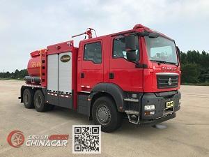 捷达消防牌SJD5240GXFGF60/SDA型干粉消防车图片1