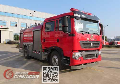 中联牌ZLF5190GXFSG80型水罐消防车图片