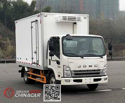 骐铃牌JML5042XLCCD5型冷藏车图片