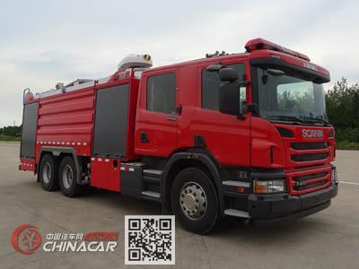 永强奥林宝牌RY5260GXFSG100/A0型水罐消防车图片1