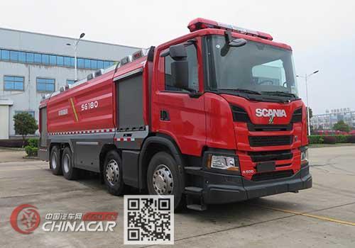 中联牌ZLF5352GXFSG180型水罐消防车图片