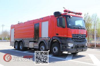 中卓时代牌ZXF5390GXFSG180/B5型水罐消防车图片1