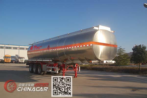 特运牌DTA9401GYYB型铝合金运油半挂车图片4