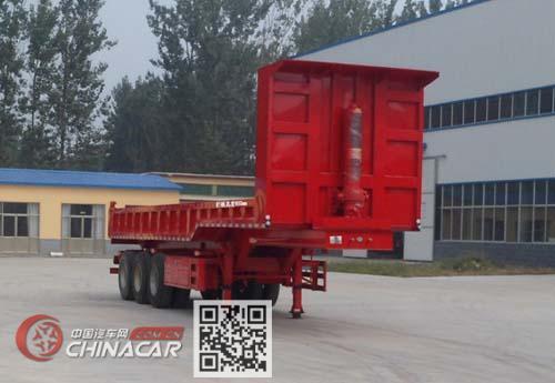 华鲁业兴牌HYX9401ZH型自卸半挂车图片1