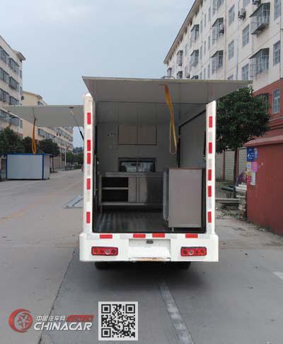 程力威牌CLW5030XSHD5型售货车图片3