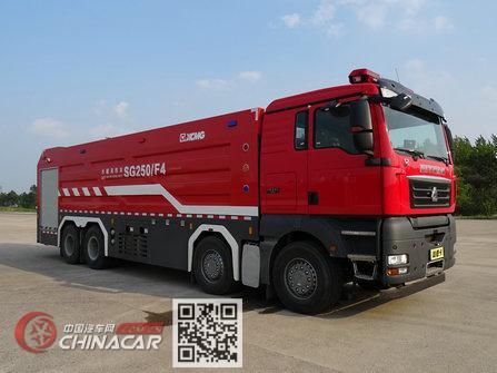 徐工牌XZJ5430GXFSG250/F4型水罐消防车图片1